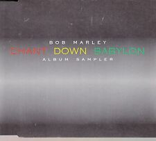 "CD MAXI 5 T BOB MARLEY  ""CHANT DOWN BABYLON""  (PROMO)"