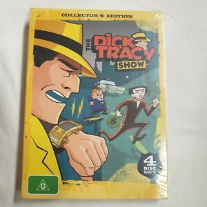 Dick Tracy Show Collectors Edition 4 Disc Animated  Series