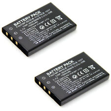 2x 3.7v Battery for HP Photosmart R07 R507 R607 R707 R707v R717 R725 R727 R817