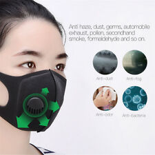 Dust Mask Double Filter Anti Pollution Air PM2.5 Face Masks Reusable&Comfortable