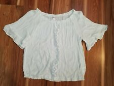 Pretty Justice Girl's White Blouse Size 18 plus