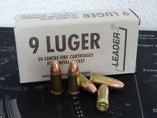 Deko-Patronen  5 Stück / 9x19 / 9mm Para Luger
