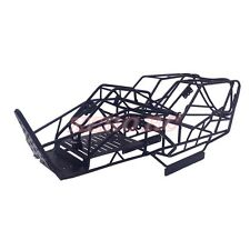 1/10 SCALE AXIAL WRAITH TRUCK FULL METAL CHASSIS ROLL CAGE FRAME BODY BLACK