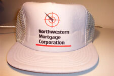 Vintage North western Mortgage Corporation trucker style hat 100-308
