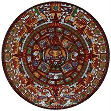 DOWDLE FOLK ART COLLECTORS JIGSAW PUZZLE AZTEC CALENDAR 500 PCS #00117