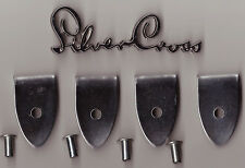 SILVER CROSS DOLLS COACH BUILT PRAM CHASSI FINALES x 4 spares oberon  spares