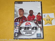 FIFA FOOTBALL 2005 x PC Windows NUOVO SIGILLATO NEW vers. ITALIANA TOP!!!