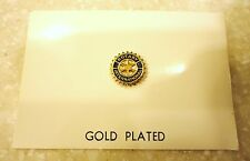 ROTARY INTERNATIONAL 7/16 - INCH GOLD PLATED REPLACEMENT PIN