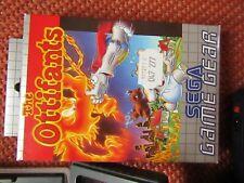 Sega Game Gear Spiel The Ottifants Modul OVP