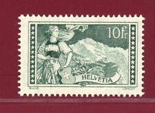 Switzerland, 1930 #185 10fr, The Jungfrau, Mint, LH, OG, SCV $275.00