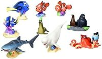 Disney Store Exclusive Pixar Finding Dory Deluxe Figurine Cake Topper Play Set