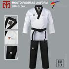 MOOTO Poomsae Uniform (Male) WT (World Taekwondo) Dan Dobok TAEBEK TKD New Logo