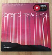 THE MAVERICKS BRAND NEW DAY LP TRANSLUCENT RED VINYL ONLY 750 COPIES LIMITED ETD