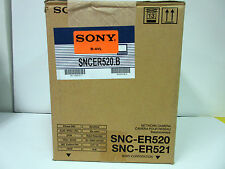 Sony SNC-ER520 Network Rapid Dome Camera 36x Optical Zoom 360° Endless Rotataion