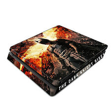Skin Decal Cover Sticker for Sony PS4 Slim - Batman The Dark Knight Rises 2