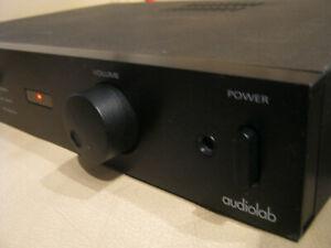 Audiolab 8000S englischer audiophiler Vollverstärker mit Fernbedienung, in OVP