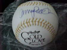 RYNE SANDBERG CHICAGO CUBS SIGNED GOLD GLOVE BALL JSA KK76033
