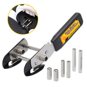 """Twin Blades Paperback Cutter (0.6""""-1.8"""" Width) Adjustable Distance Cutting Knife"""