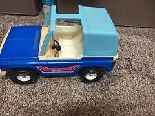 Vintage Tonka Bronco 835Tr Large Blue T-Top 1970s Pressed Steel Toy Jeep