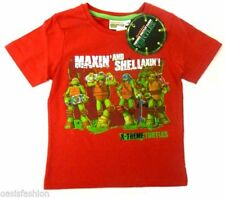 T-shirts, débardeurs et chemises rouge 4 ans pour garçon de 2 à 16 ans