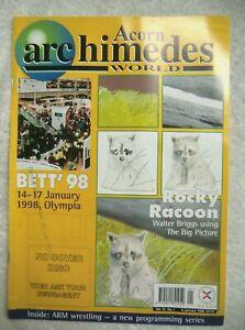 75751 Volume 15 No 01 Acorn Archimedes World Magazine 1998