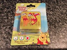 Bnib new sealed disney winnie the pooh & tigger Magic serviette facecloth flanelle