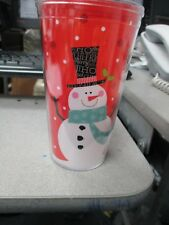 Christmas-Themed Double-Wall Tumblers with Lids, 14 oz. ( Cold Cup Tumbler..