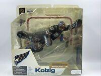 OLAF KOLZIG Washington Capitals Black Jersey NHL Hockey Action Figure Goalie