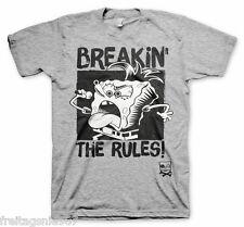 SPONGE BOB Breakin´ The Rules  T-Shirt  camiseta cotton officially licensed
