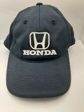 Honda Baseball Hat Ball Cap ~ Blue White Embroidered Logo