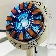 Iron Man Ark Reactor Life-size USB Powered LED Luminous Spell Model Set