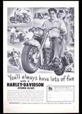 1951 Harley Davidson *You'll Always have Lots of Fun* Hydra-Glide AD