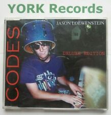 JASON LOEWENSTEIN - Codes - Excellent Condition CD Single Domino RUG143CD