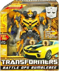 """Transformers Battle Ops Bumblebee Rare Collectable Hasbro Approx. 12"""" Figure New"""