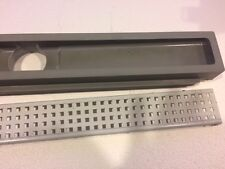 "24"" Linear Shower Trench Drain Slot Trough Infinity"