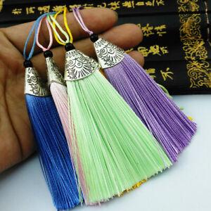 8cm Earrings Tassel Trim Crafts Jewelry Making DIY Key Chian Pendants
