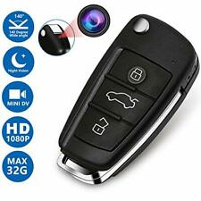 Hidden Spy HD Camera 1080P DVR Car Key Mini Cam IR Night Vision Motion Detection