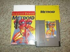 Metroid Classic Series YELLOW (Nintendo NES) Complete in Box GOOD