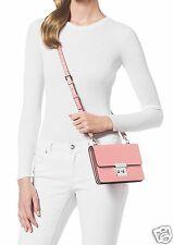 Michael Kors Tasche/Bag Sloan SM Gusset Xbody Leder Pale Pink NEU!Neues Modell