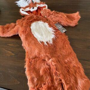 Pottery Barn Kids Woodland Baby Fox Halloween Costume 12-24 Months NWT