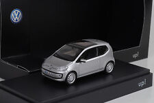 2012 VW up! UP 2 door /  silver silber 1:43 Schuco Dealer