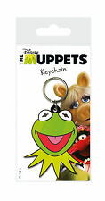 DISNEY THE MUPPETS KERMIT THE FROG LICENSED RUBBER KEYCHAIN