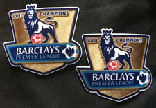 2 Barclays Premier League Manchester United Champions Shirt Arm Badge EPL 10/11