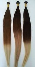 "I-Tip Pre-Bond Extensions Finest European Remy Hair  18"" Ombre Choice Of Color"