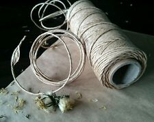 5m x Twisted Brown Kraft Paper Cord Rope Twine String- Pet Rabbit Bird Toy Part