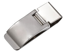 Visol Young Men's Capricorn Stainless Steel Money Clip, Silver, Regular
