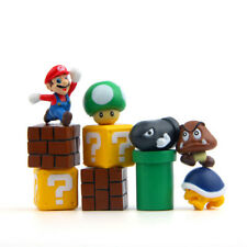 10pcs Super Mario Bros Mini Action Figures Figurine Playset Toy Doll Kids Gift