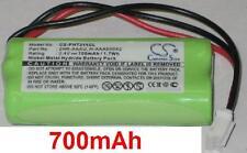 Batería 700mAh tipo 2HR-AAAU H-AAA600X2 Para Philips Xalio 300
