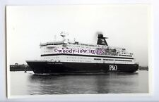 fp0352 - P&O Ferry - Pride of Portsmouth , built 1990 -photograph Wright & Logan
