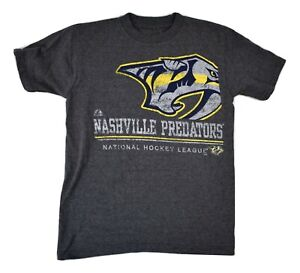 Majestic Youth Boys NHL Nashville Predators Shirt NWT S